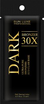 DARK BRONZER 30х, крем-бронзатор - саше 15 мл - фото 4173