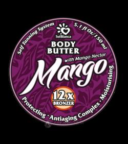 Mango, твердое масло автозагар - 150 мл - фото 4233
