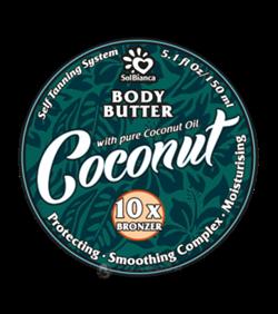 Coconut, твердое масло автозагар - 150 мл - фото 4241