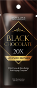 BLACK CHOCOLATE 20х, крем - саше 15 мл