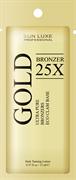 GOLD BRONZER 25х, крем-бронзатор - саше 15 мл