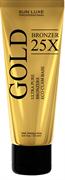 GOLD BRONZER 25х, крем-бронзатор - туба 125 мл